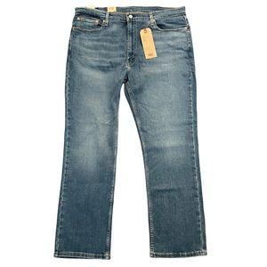 Levi's 514 Straight cut men's jeans medium blue wash size 40/30 inv#16
